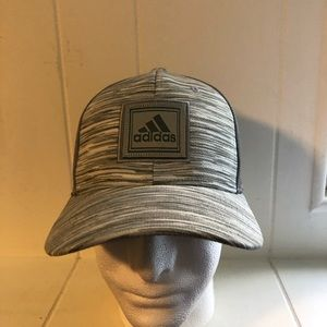 Grey Adidas Trucker Hat
